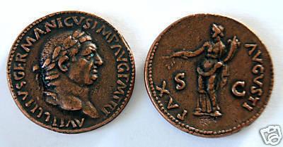 (DD S-39) Sestertius of Vitellius COPY Bonanza