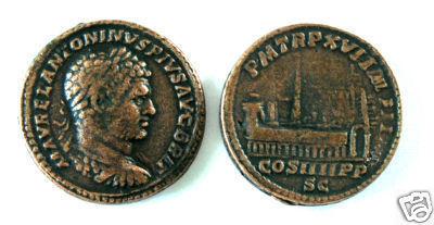 (DD S-78) Sestertius of Caracalla COPY Bonanza