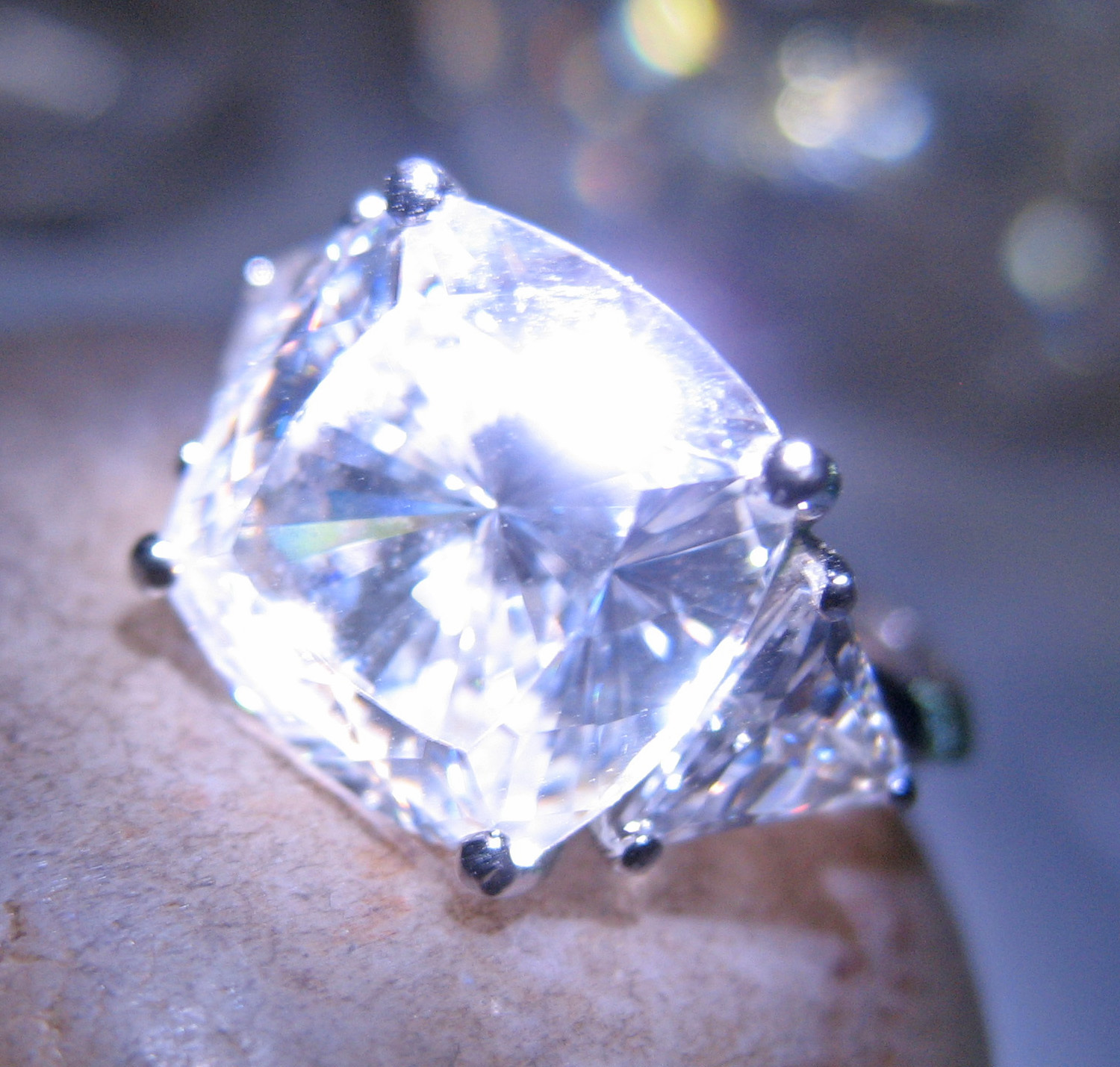 Haunted ring INFINITE POWER HIGH MAGICK SPELL 925 Crystal gem Witch Cassia4