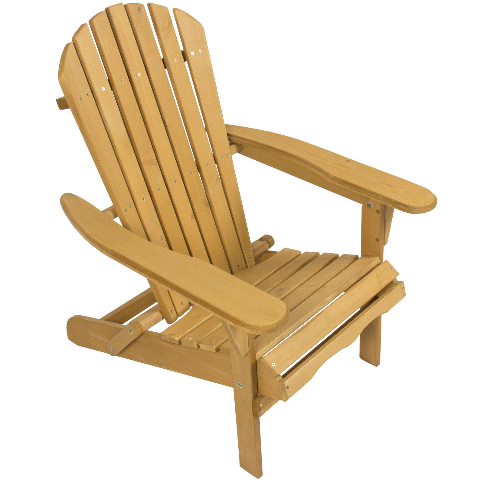 Outdoor Adirondack Wood Chair Foldable Patio Lawn Deck Garden Furniture Chairs