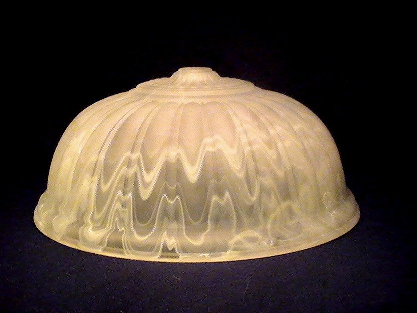 Floral Lamp Shades Vintage Slag Glass Lamp Shade White