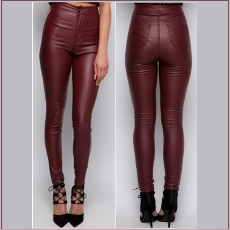 Find great deals on eBay for red faux leather pants. Shop with confidence.