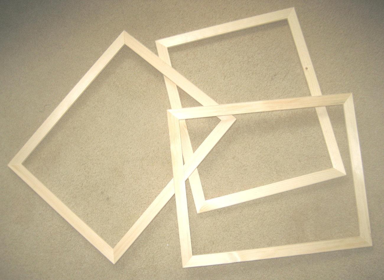 Wood: Unfinished Wood Frames