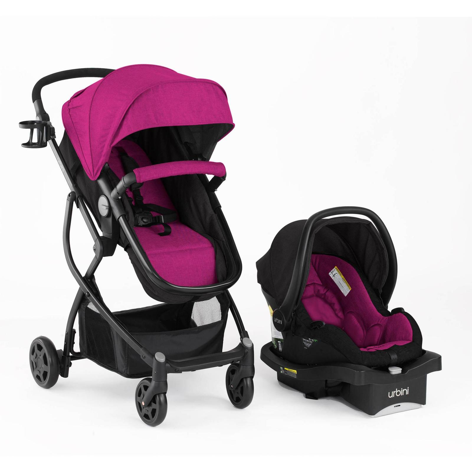 Stroller Urbini Travel System 3 In 1 Convertible Car Seat