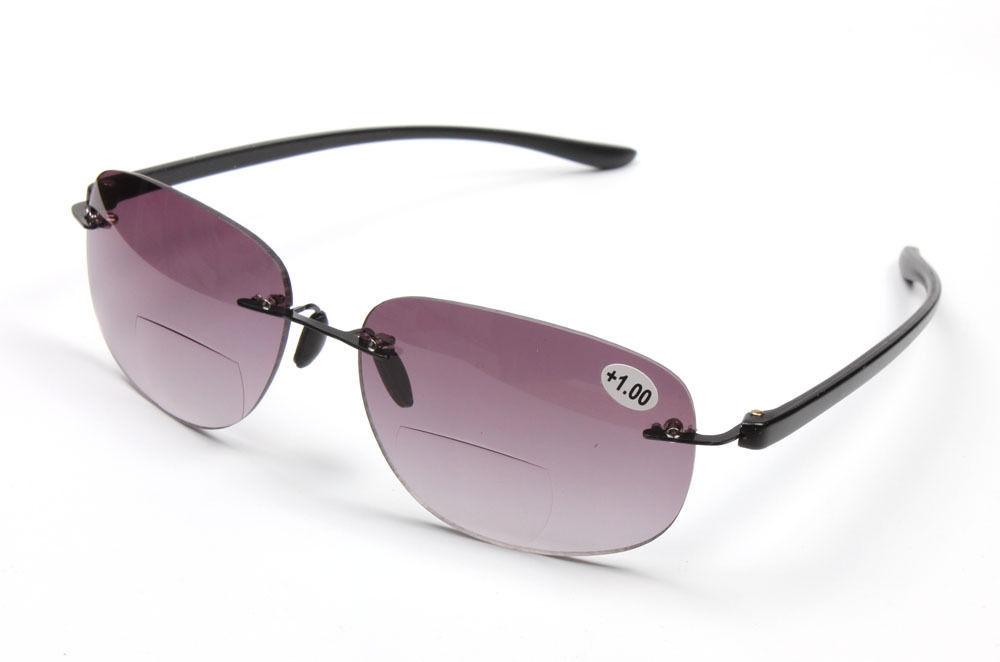 Rimless Glasses Nz : Line Bifocal Reading Glasses Sunglasses Readers +1.00~+3 ...