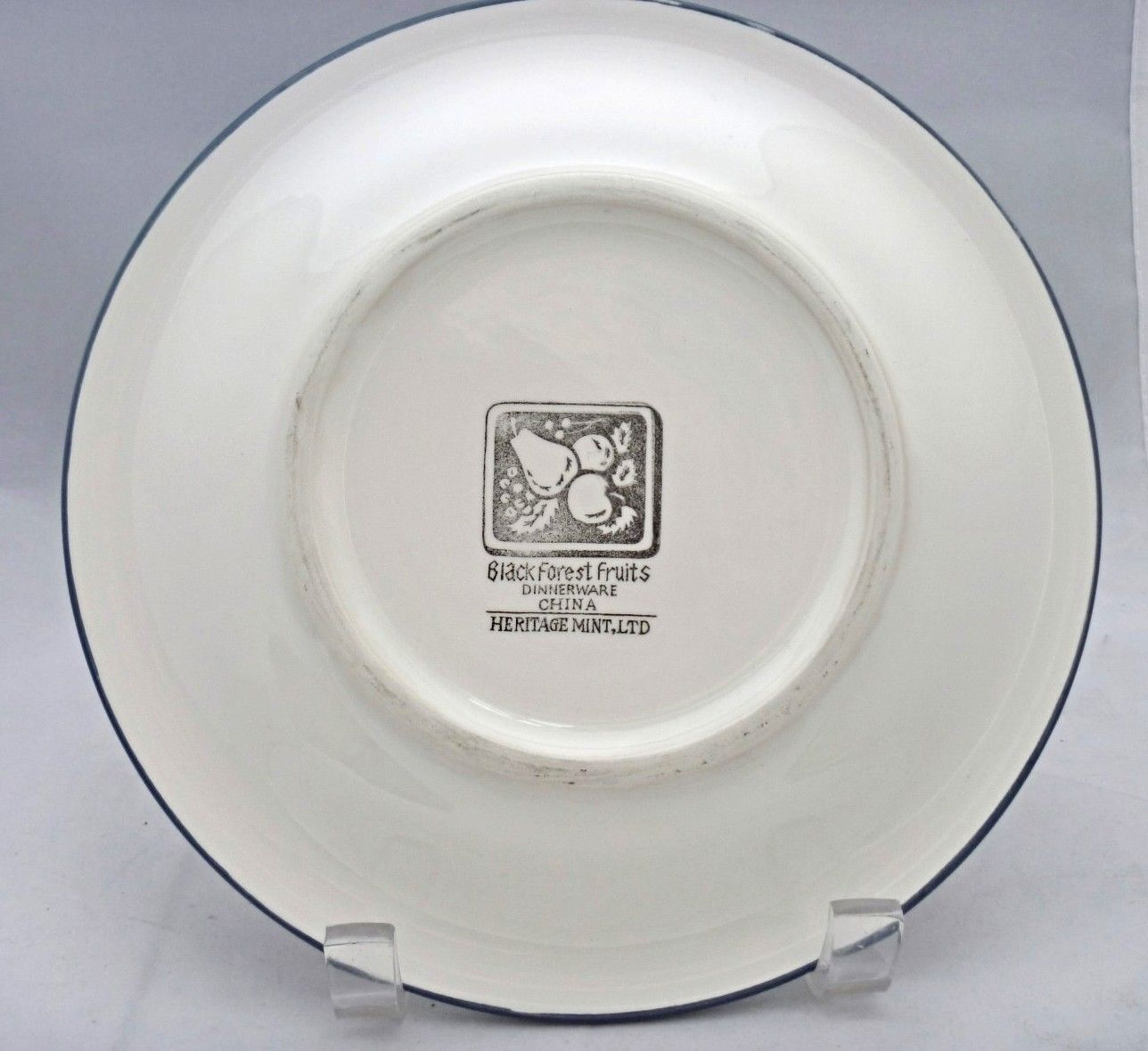 Decorative Wall Plates Nz : Black forest fruits dinnerware salad plate replacement