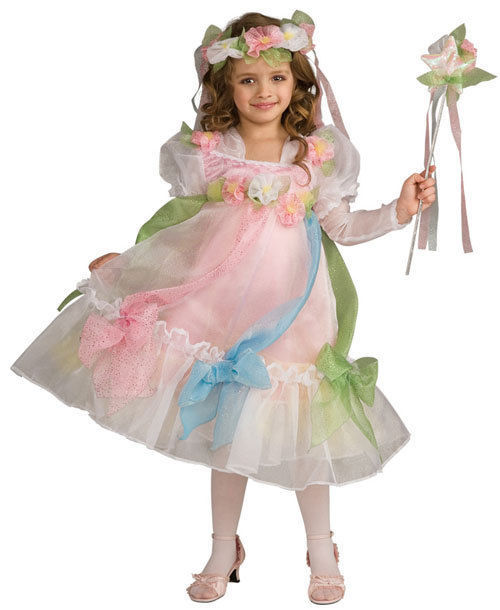 Diva Sweet Mayflower Princess Posh Deluxe Dress/Petticoat, Headpiece/Wand Rubies