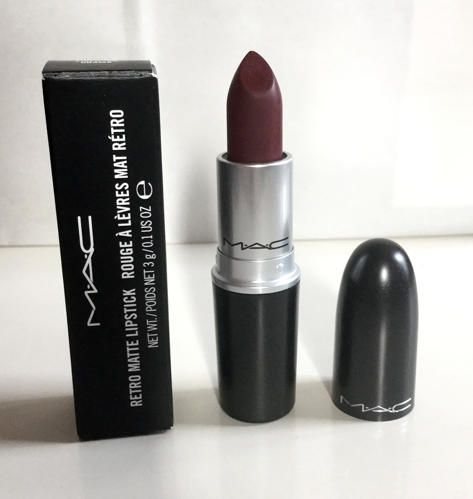 mac fixed on drama lipstick - photo #14
