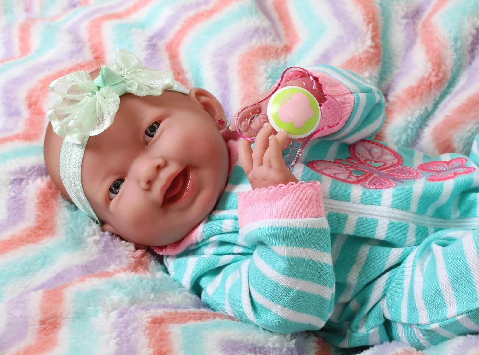 """Smiling Baby Preemie Reborn Doll 15"""" Real and 50 similar items"""
