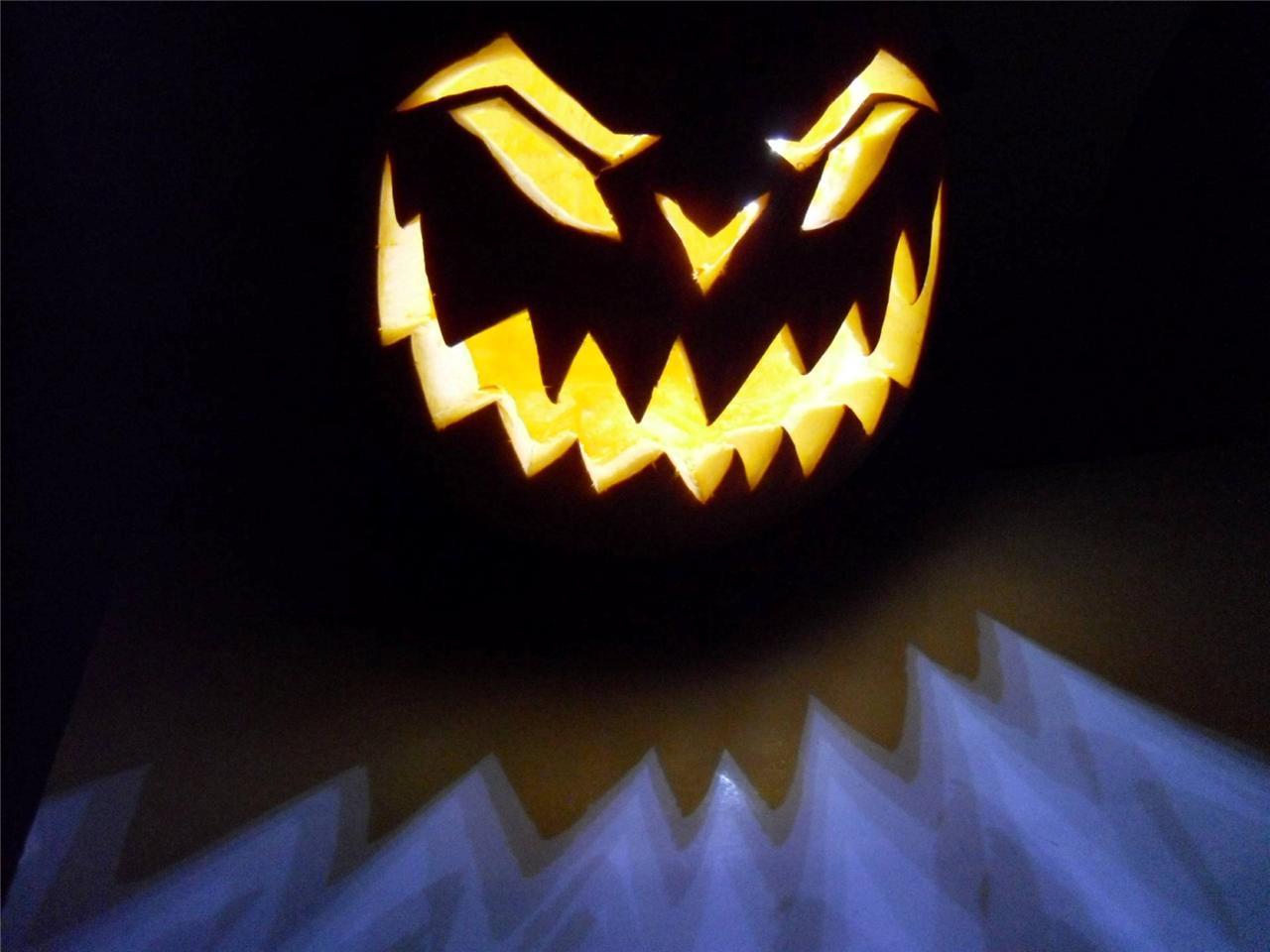 Halloween lights pumpkin jack o lantern led quot candle