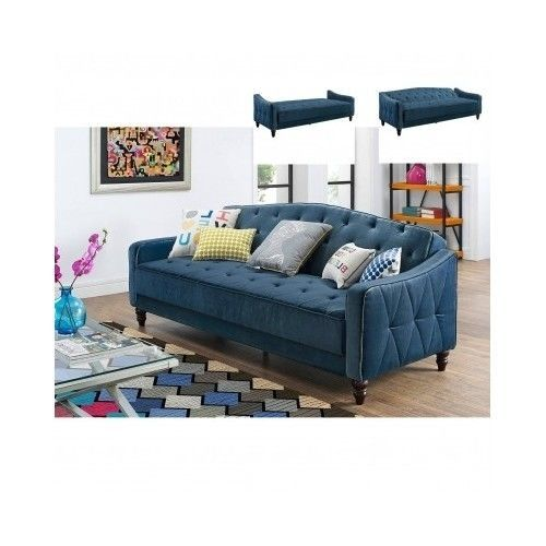 Convertible sleeper sofa bed couch daybed living room for Best deals on living room furniture