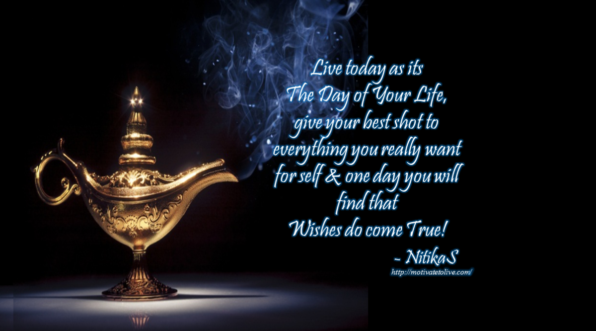 Real Genie Wishes