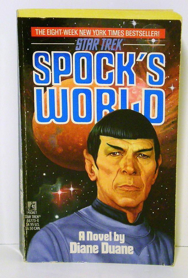 Spock's World by Diane Duane, A Star Trek Novel The Original Series