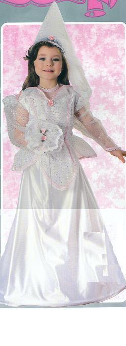 Sleeping Beauty BRIDE 8/10 Childs Costume Bonanza