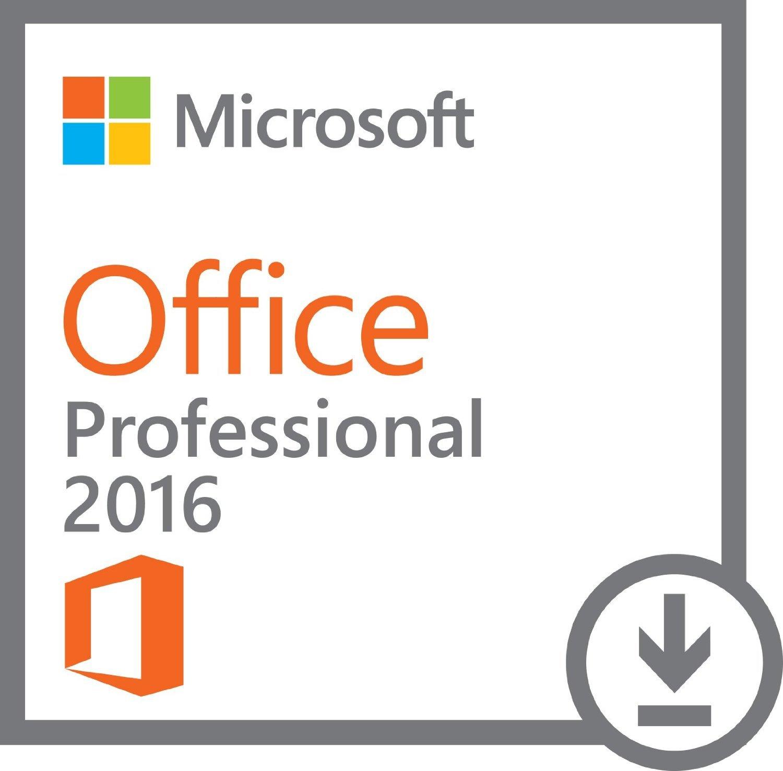 Office 2016 Professional Plus 32bit & 64bit for Windows - 1 PC License