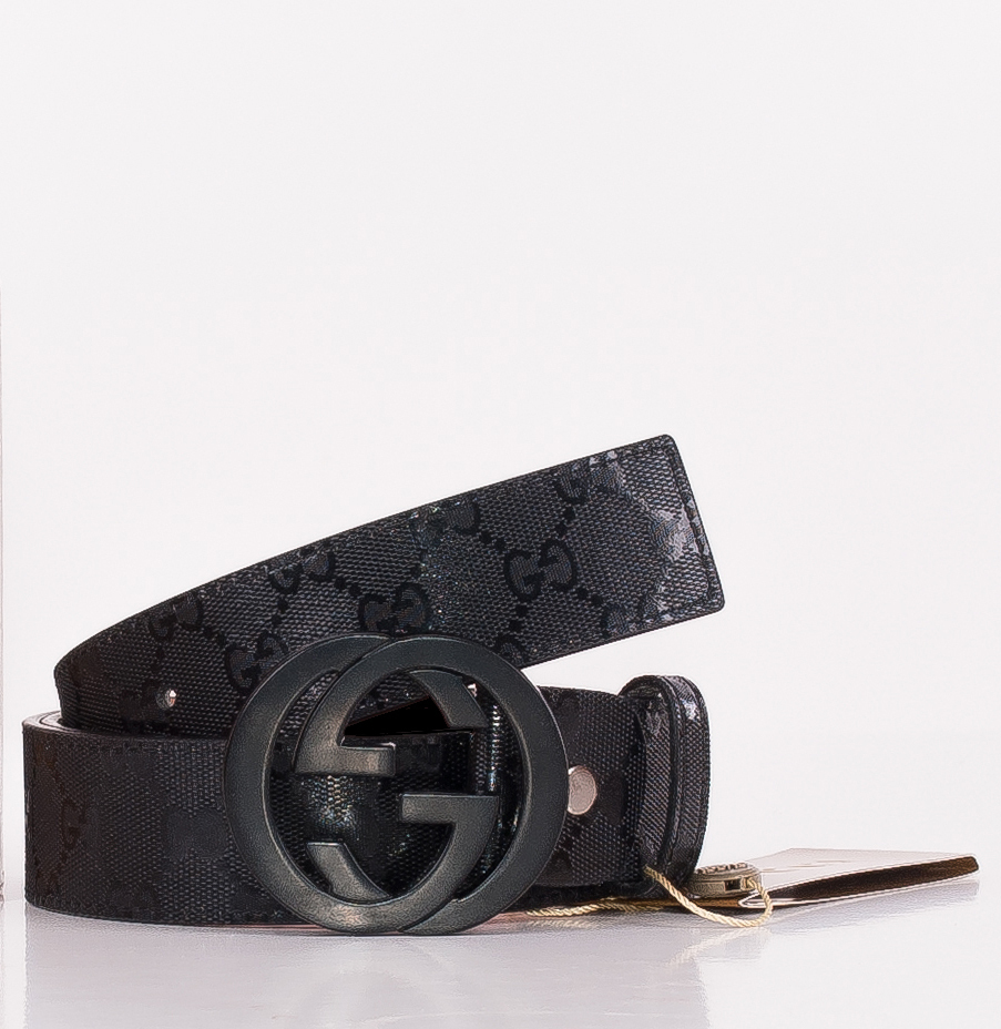 gucci s leather belt with interlocking g buckle belts