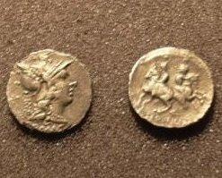 (RR-24) Denarius of C.Servilius M.f. COPY Bonanza