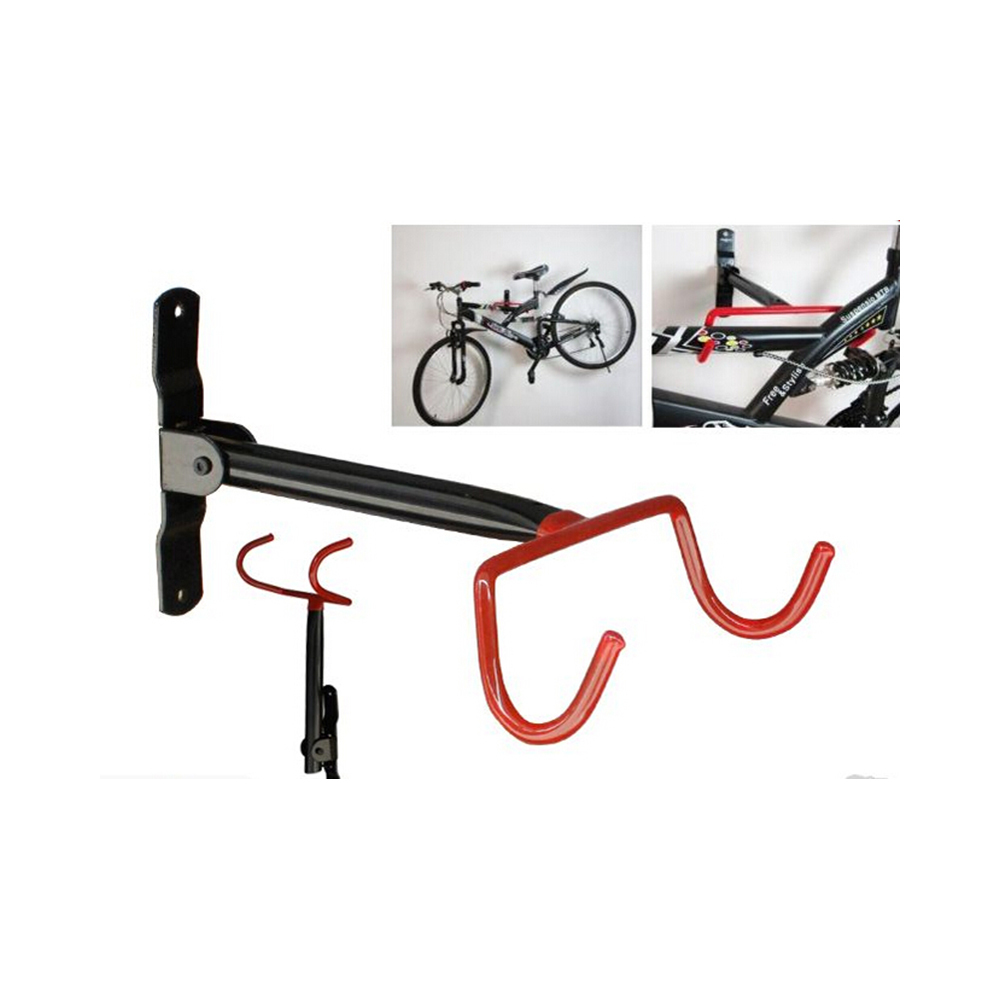 garage wall bicycle bike storage rack mount hanger hook holder with screws racks holders. Black Bedroom Furniture Sets. Home Design Ideas