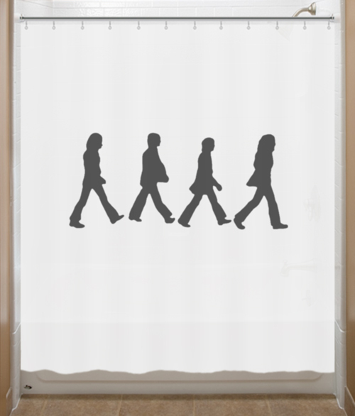 Beatles Shower Curtain Abbey Road