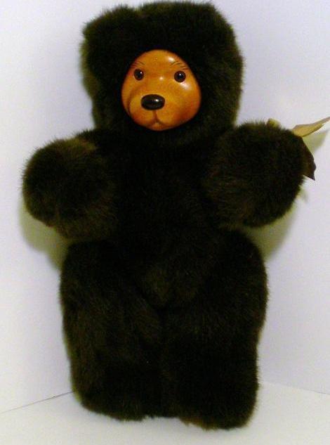 Image 2 of Robert Raikes Bears Cookie Dark Brown version 1989