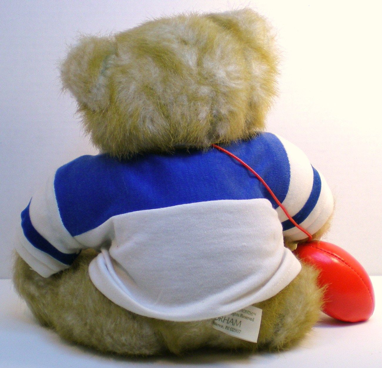 Image 2 of Gorham Teddy Bear of the Month Olympus Octobear 1984 for October