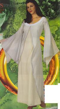 ARWEN The LORD OF THE RINGS MOVIE COSTUME Adlt One Sz Bonanza