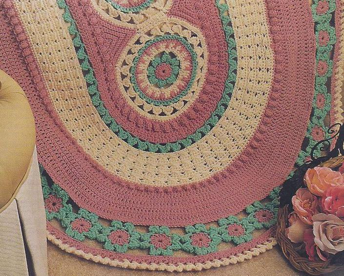 Annies Crochet Patterns : Carousels Afghan Crochet Pattern~Annies Quilt & Afghan Club - Afghans