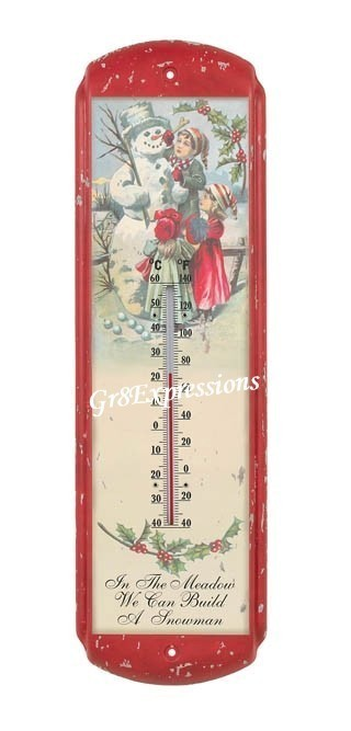 Vintage_snowman_thermometer