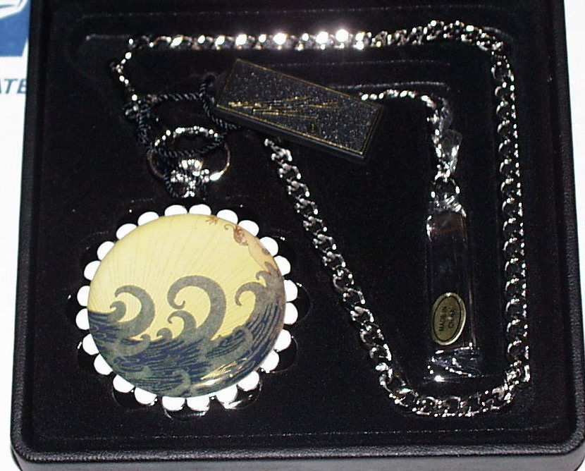 Time For Design Erte Pocket Watch Aphrodite no.1016 new