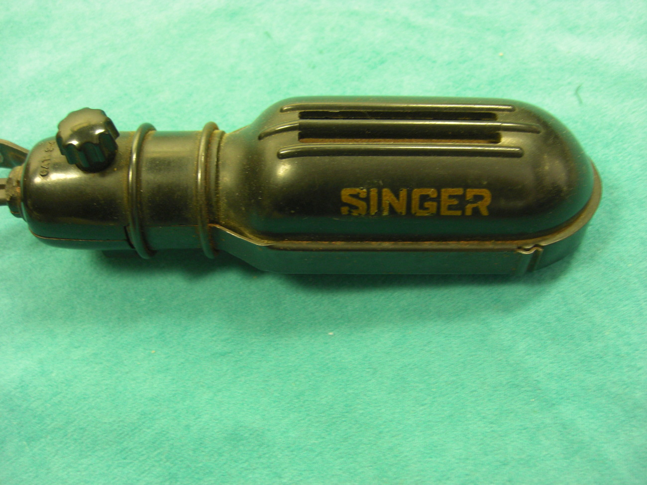Singer Sewing Machine Light Fixture with Bracket