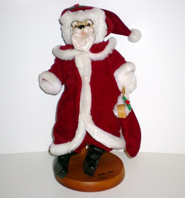 Image 0 of Raikes Bears Classic Santa 1990 3rd Christmas Limited Ed