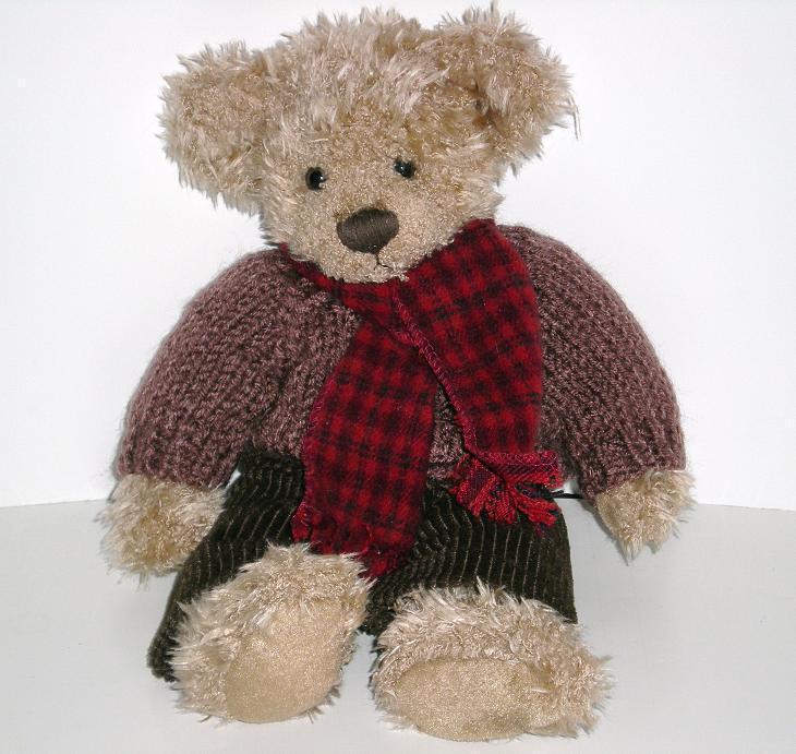 Russ Bear Allister, Collectible Bear from 2000