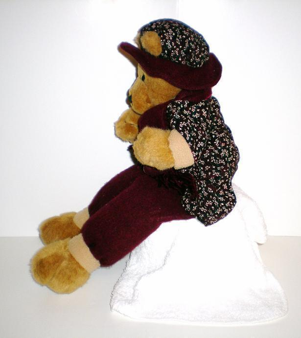 Image 1 of Graceful Lady Sitting shelf Teddy Bear 2001