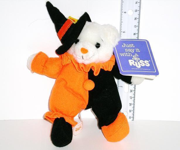 Russ Bear, Mischief, Jr. Luv Pet Halloween 1993