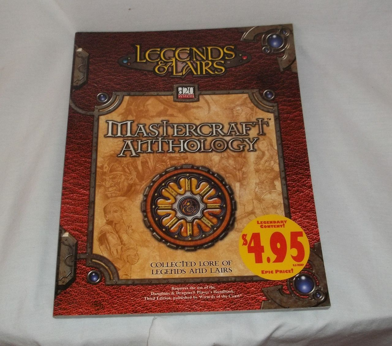 PRE OWNED MASTERCRAFT ANTHOLOGY D&D BOOK for sale