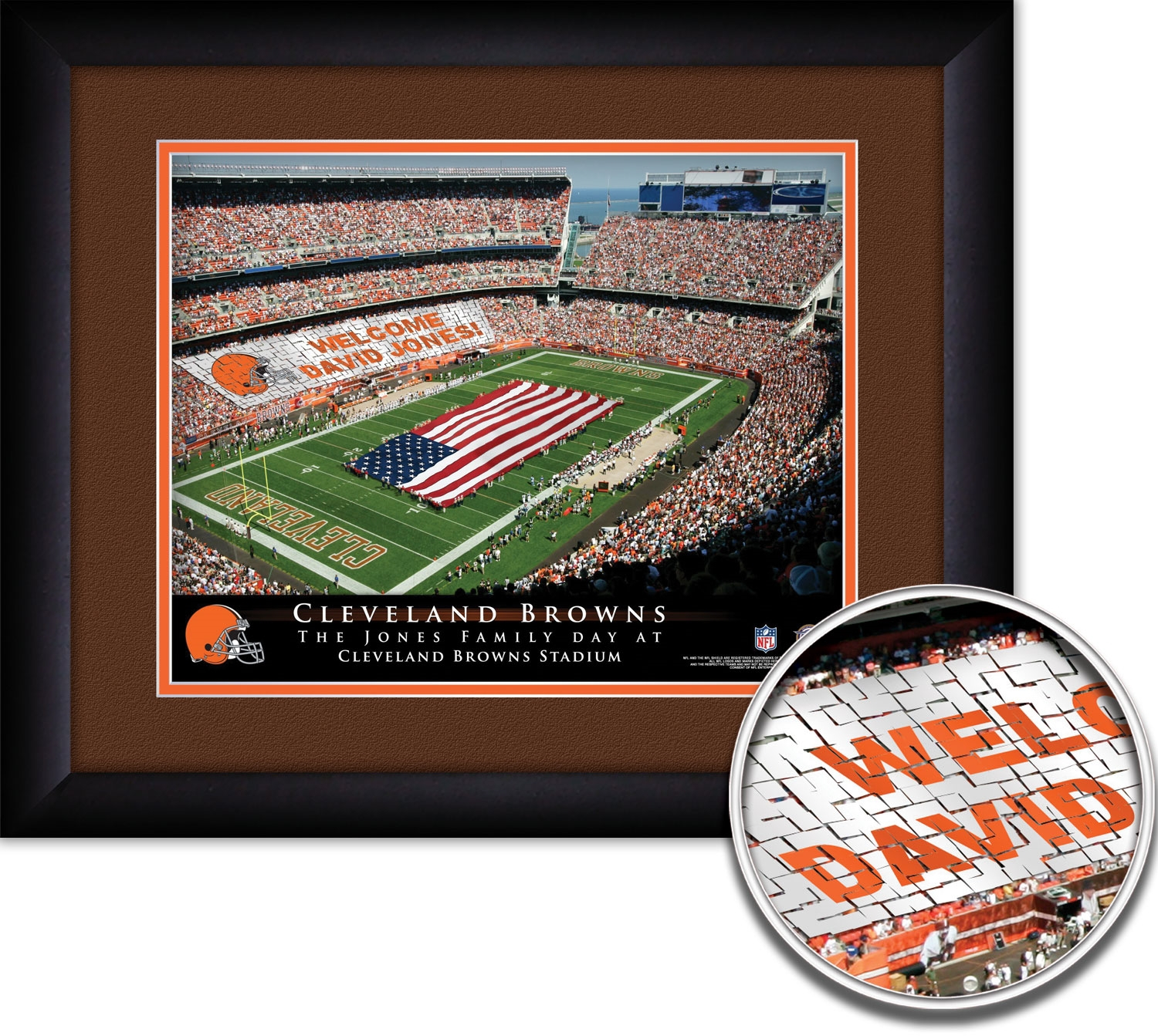 Personalized Cleveland Browns Stadium Quot Your Day At Quot 15
