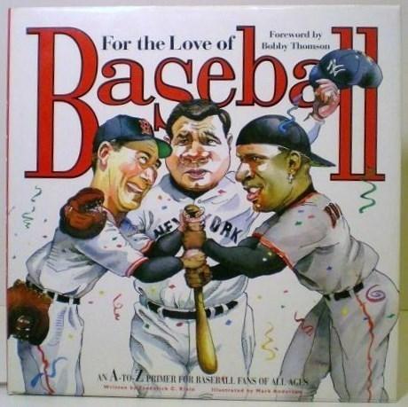For the Love of Baseball & Baseball Superstars 2 sports book