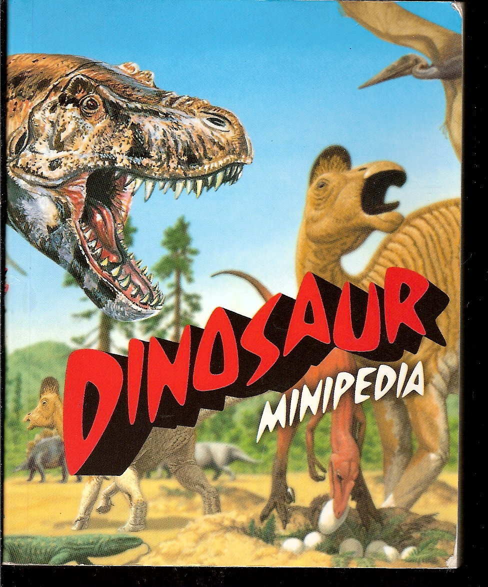 Dinosaur Minipedia by Jinny Johnson PB pocket encyclopedia 2002 children