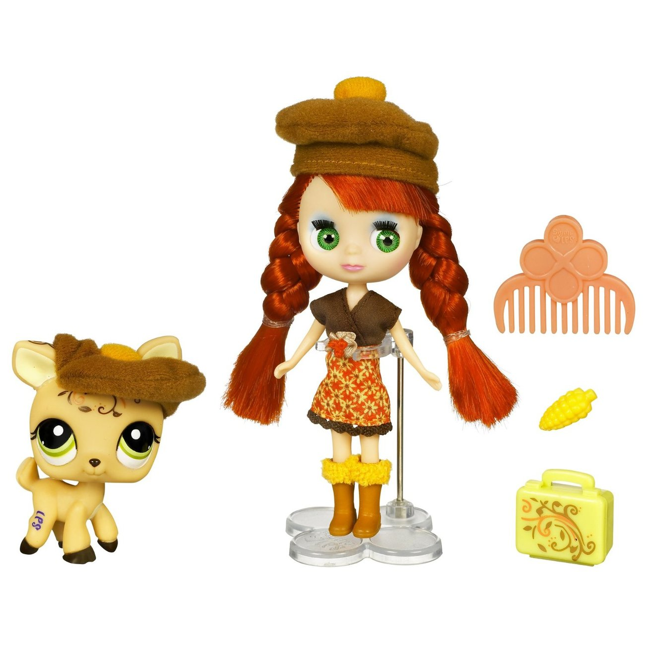 Littlest Pet Shop Blythe B6 Autumn Glam Deer 1620