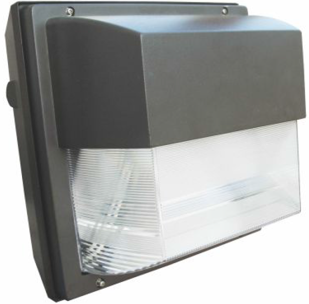 40 watt induction wall pack light fixture commercial. Black Bedroom Furniture Sets. Home Design Ideas