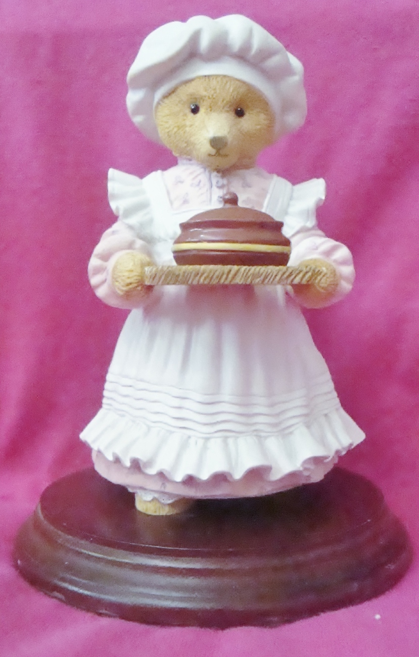 Dept 56 Upstairs Downstairs Bears -- Mrs. Bumble