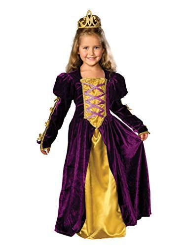 Image 0 of Rubie's Regal Queen Child's Costume, Medium