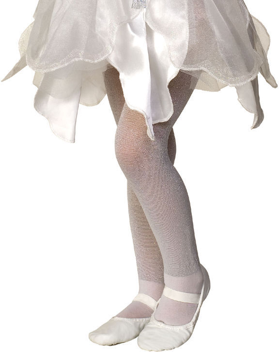Image 3 of Rubies Girl's Fancy Fashion Dance Nylon Sparkle Tights, Blue Lavender Pink White