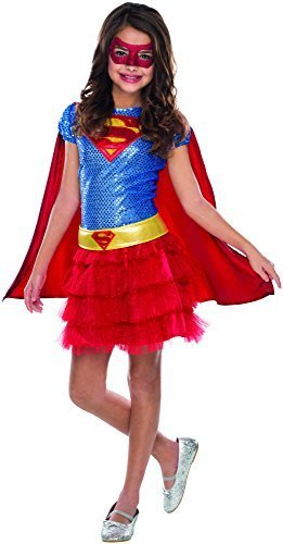 Image 0 of Rubie's Costume DC Superheroes Supergirl Sequin Child Costume