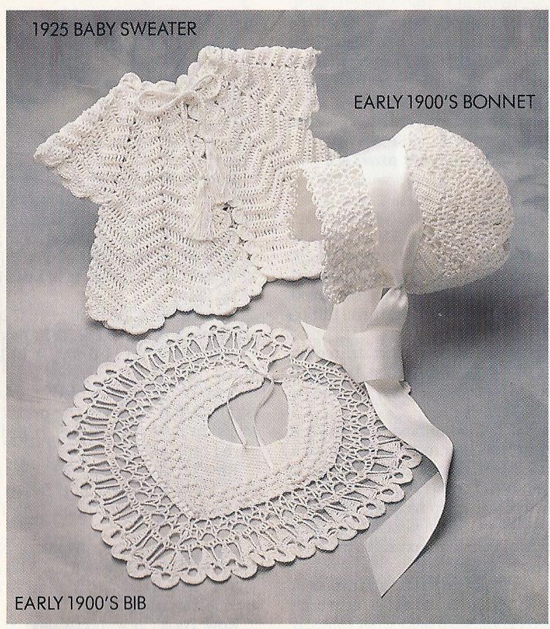 Antique Baby Christening Layette Crochet Pattern~RARE~VHTF ...