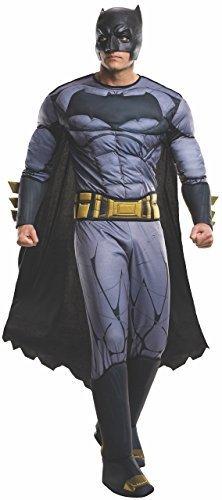 Image 0 of Rubie's Men's Batman v Superman: Dawn Of Justice Deluxe Batman Costume, Multi