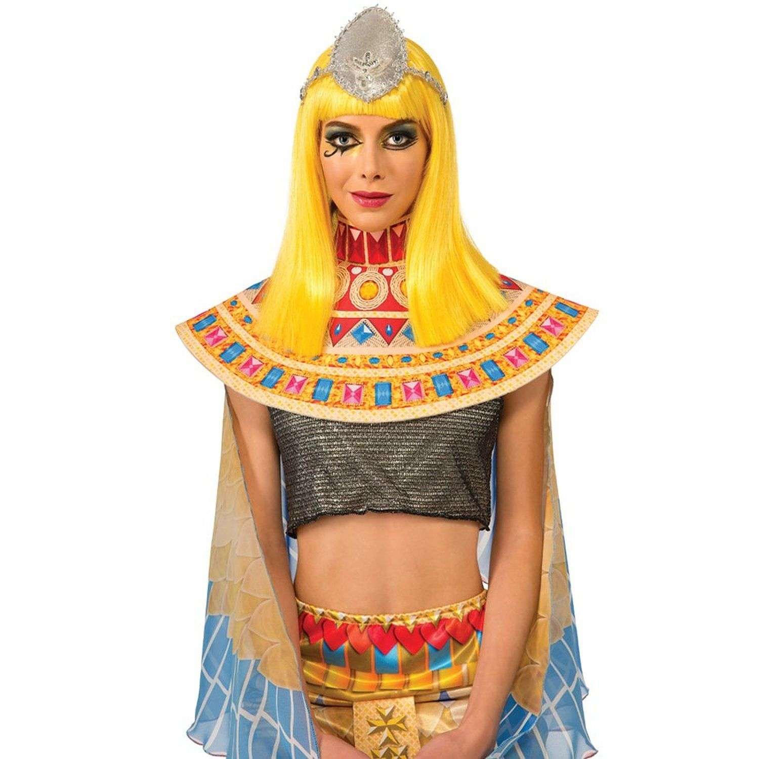 Image 1 of Rubie's Costume Katy Perry Patra Dark Horse Adult Wig, Yellow, One Size