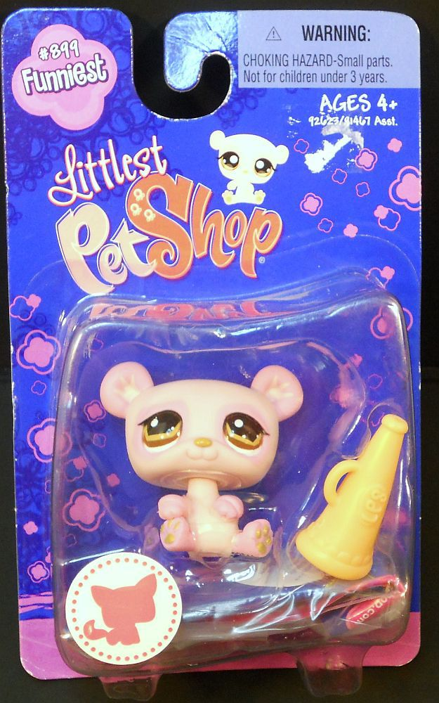Image 2 of Littlest Pet Shop Panda 899 Funniest megaphone brown eyes