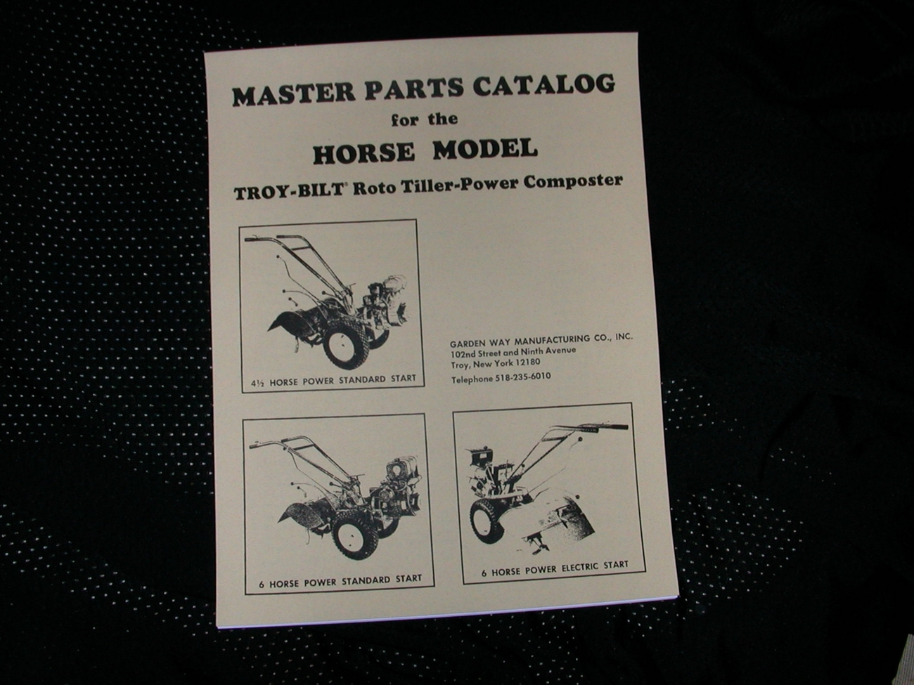 Troy Bilt Tiller Manual Free Tines Pony Parts Diagram