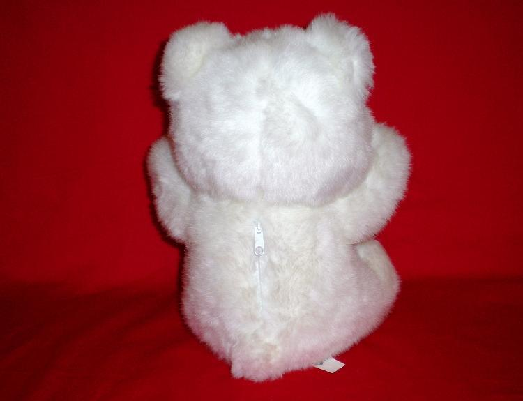 Image 1 of Blushing Bear Valentine's Day Teddy Bear QVC 1993